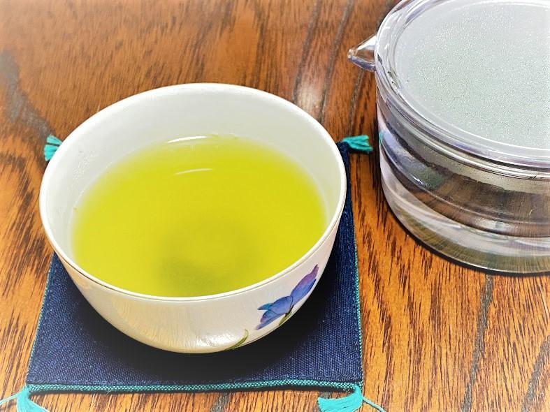 煎茶堂東京 透明急須と煎茶