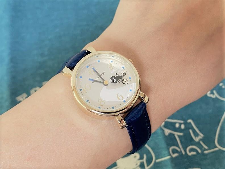 ねこまんじゅう腕時計