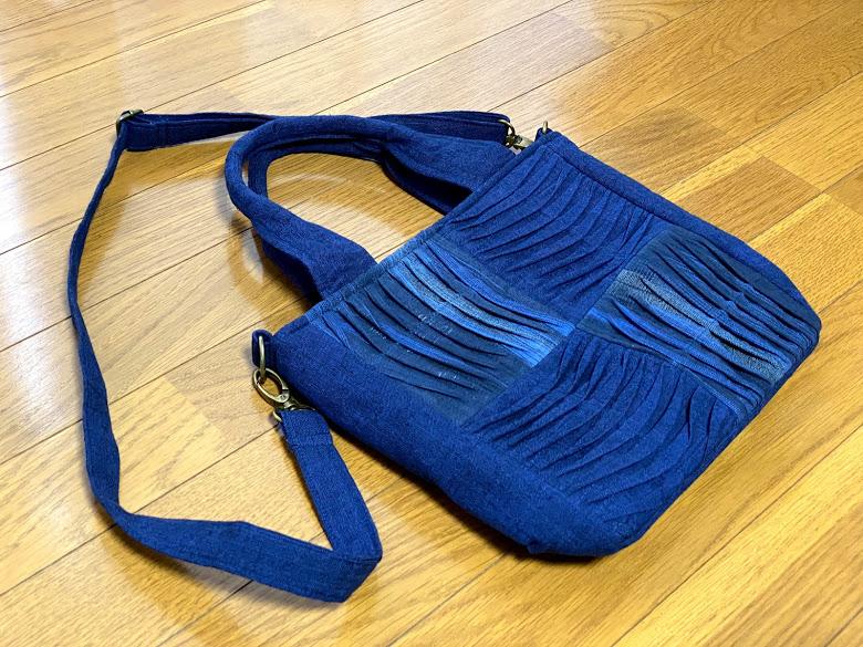 お母さん・おばあちゃんへのプレゼントにおすすめ!手染め2wayバッグ