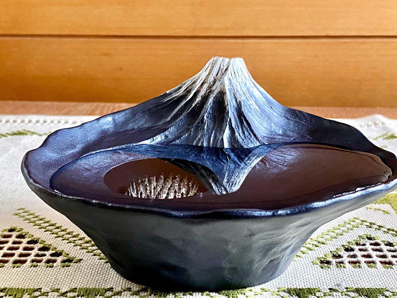 逆さ富士水盤